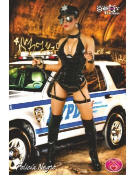 POLICIA NEGRO SADO